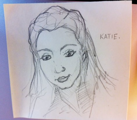 Katie, based on a profile pic and her awesomeness.